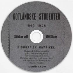 Gotländske Studenter 1891 - 1916