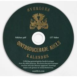 Sveriges Ointroducerade Adels kalender 1922