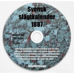 Sveriges slägtkalender 1887