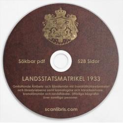 Sveriges landsstats matrikel 1933