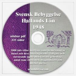 Släktforskning Svensk Bebyggelse Hallands län