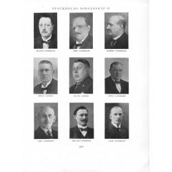 Stockholms Borgare i ord och bild 1929