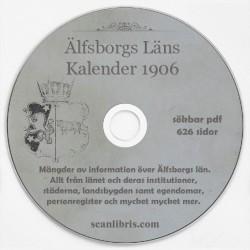 Älfsborgs Läns kalender 1906