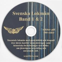 Svenska Lokmän 1950 band 1 & 2