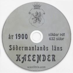Södermanlands länskalender år 1900