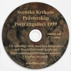 Svenska Kyrkans Prästerskap Porträttgalleri 1939
