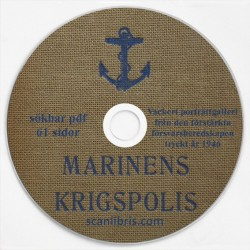 Marinens Krigspolis under den förstärkta försvarsperioden