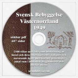 Svensk Bebyggelse Västernorrland 1949