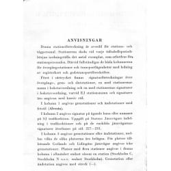 Stationsförteckning för stations - och tågpersonal 1947.
