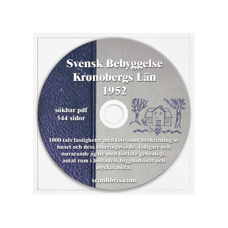 Svensk Bebyggelse Kronobergs län 1952