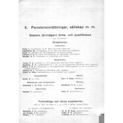 Svensk Jänvägsmatrikel år 1918