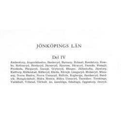 Sveriges Bebyggelse Jönköpings län del 4