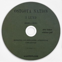 Östgöta Nation i Lund  1668-1913