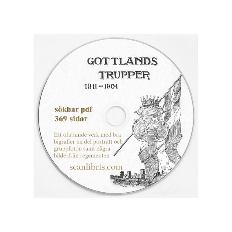 Gotlands Trupper 1811-1904 samtliga 13 band