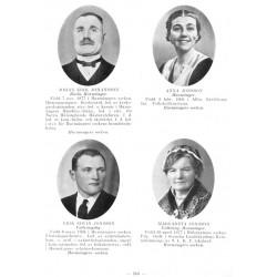 Porträttgalleri från Hälsinglands Län 1936