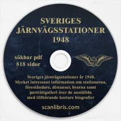 Sveriges Järvägsstationer 1948