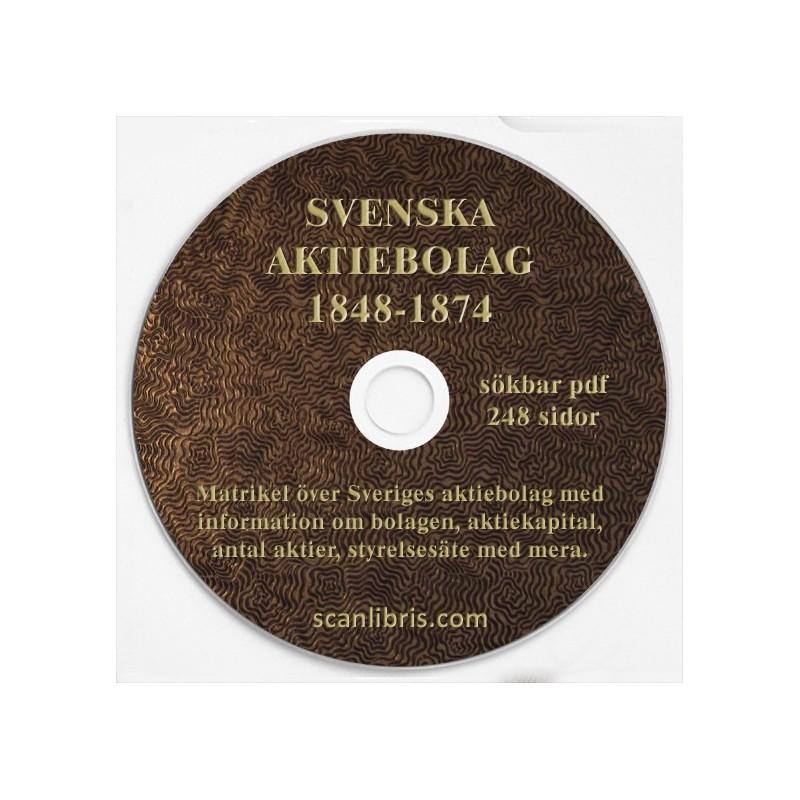 Sveriges Aktiebolag 1848-1874
