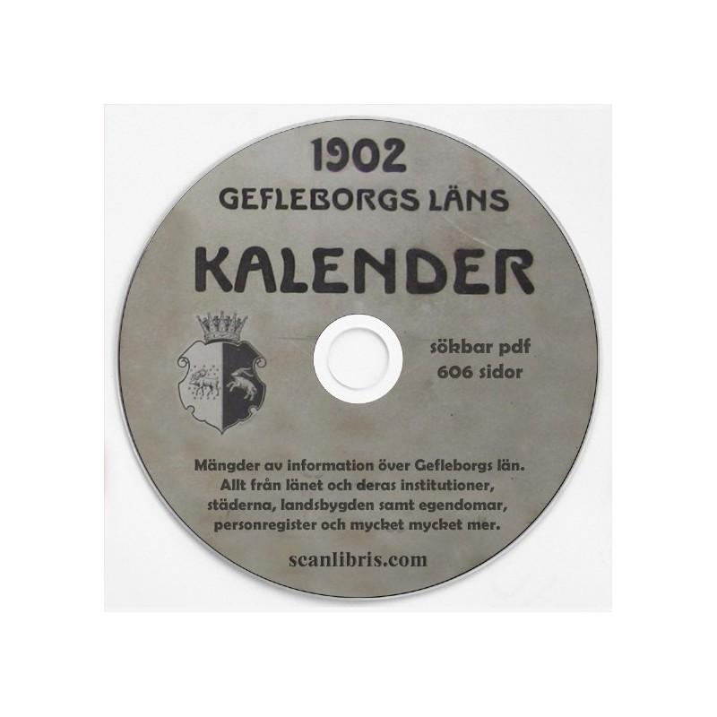 Gefleborgs Kalender år 1902