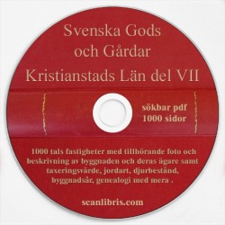 Svenska Gods och Gårdar Kristianstads Län nr 7