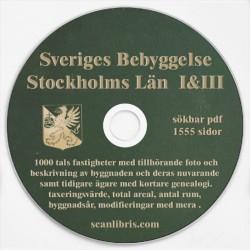Sveriges Bebyggelse Stockholm del 1 & 3