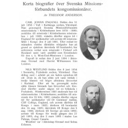 Dagbräckning i Kongo Svenska Missonsförbundet 1911