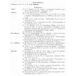 Stockholms högre läroverk 1901 & 1905
