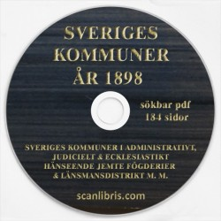Sveriges Kommuner 1898