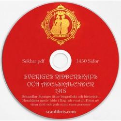Sveriges Ridderskaps och Adelskalender 1918