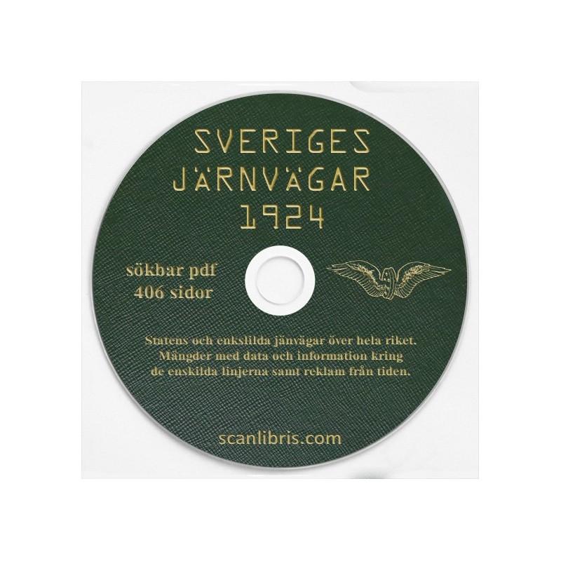 Sveriges Jänvägar 1924