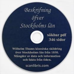 Beskrifning Stockholms län år 1850