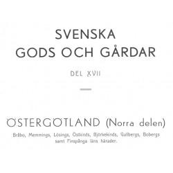 Gods och gårdar Östergötland band 17