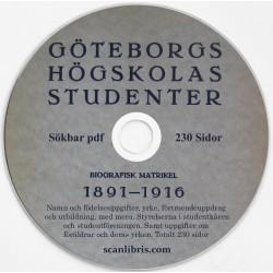 Göteborgs Högskolas Studenter 1891 - 1916