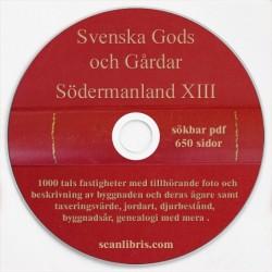 Gods och gårdar Södermanland band 13