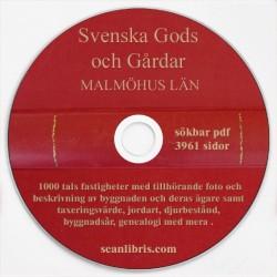 Gods och gårdar Malmöhus band 4, 5 & 6
