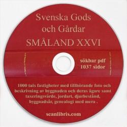 Gods och gårdar Småland band 26