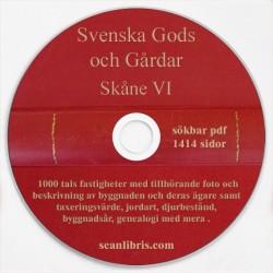 Gods och gårdar Skåne band 6