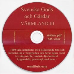 Gods och gårdar Värmland band 3
