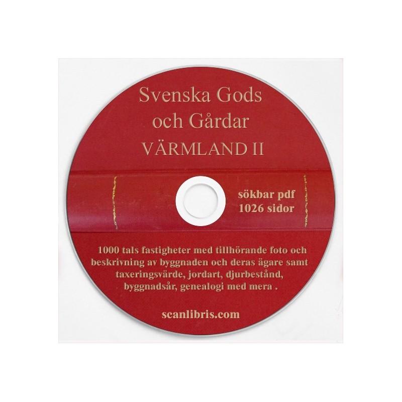 Gods och gårdar Värmland band 2
