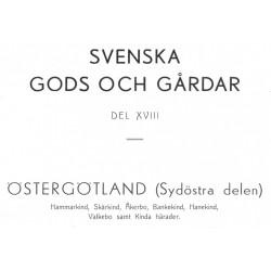 Gods och gårdar Östergötland band 18