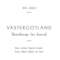 Gods och gårdar Västergötland band 32
