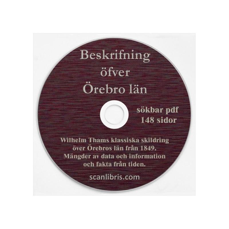 Beskrifning öfer Örebo län 1849