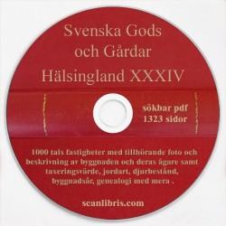 Gods och Gårdar Hälsingland band 34