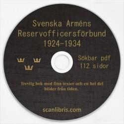 Svenska Arméns Reservofficersförbund 1924-1935