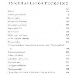 Svenska Stadsmonografier Örebro 1945