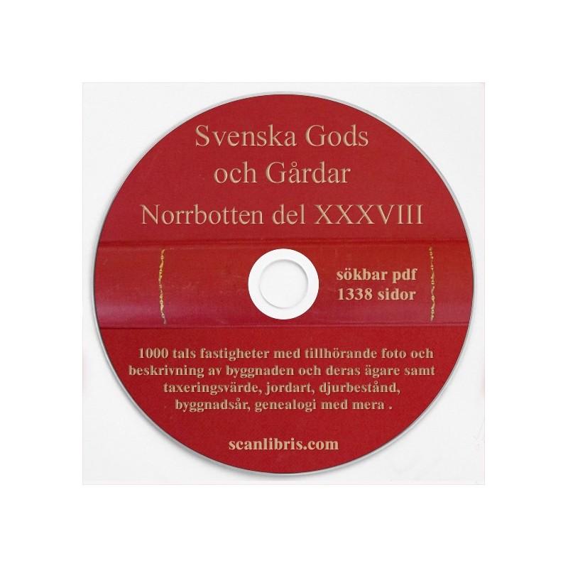 Gods och Gårdar Norrbotten band 38
